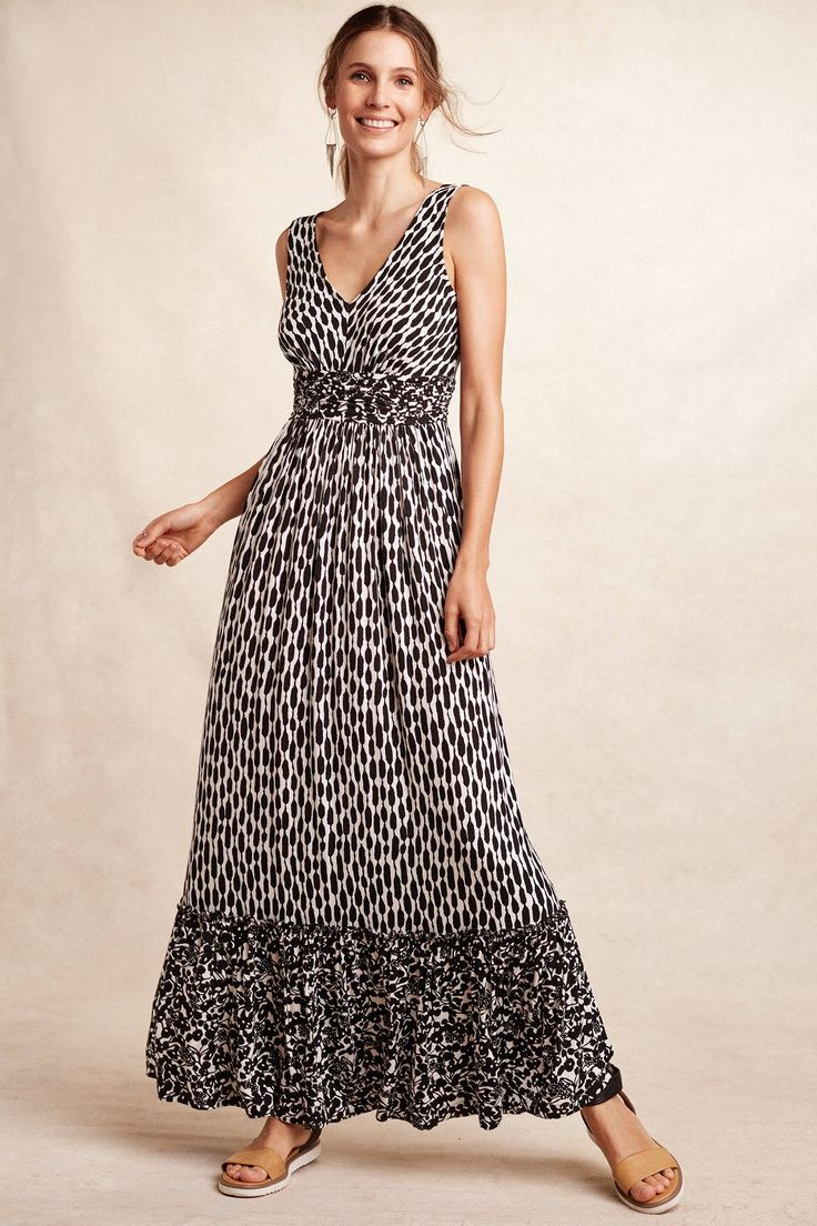 17 best images about anthropologie on pinterest kimonos for Anthropologie mural maxi dress
