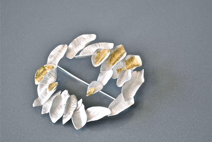 Petali Argento puro foglia d'oro