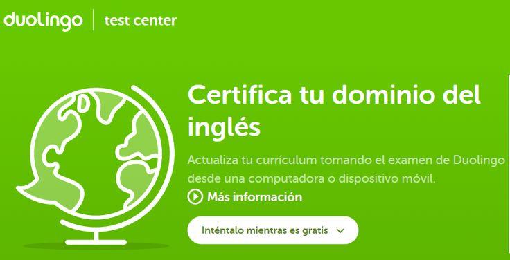 Crea y aprende con Laura: Duolingo Test Center. Certifica tu nivel de inglés...