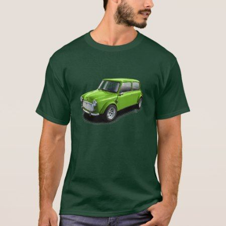 Green on Green Classic Mini Car T-Shirt - click to get yours right now!