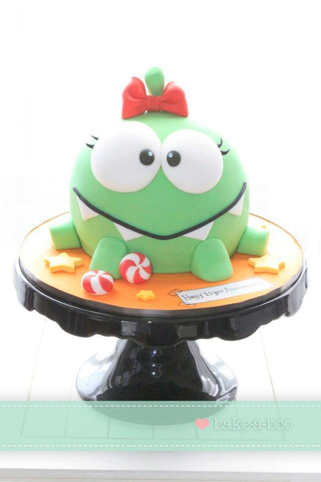 Cute cake..Cut the Rope!