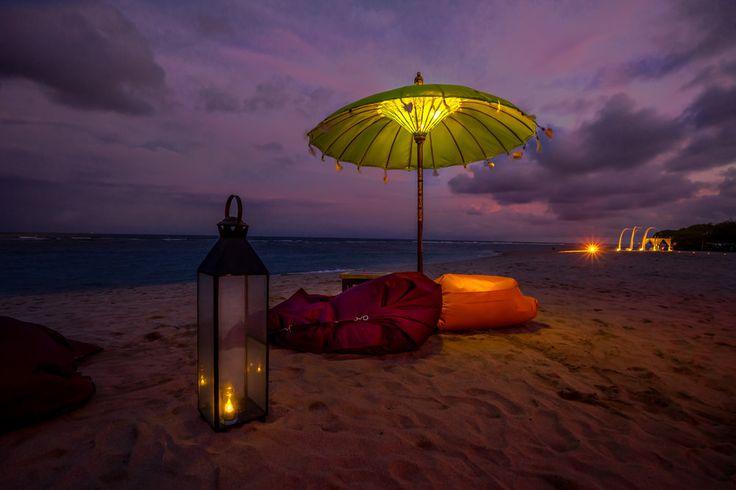 The stunning view at Ayodya Beach Bar