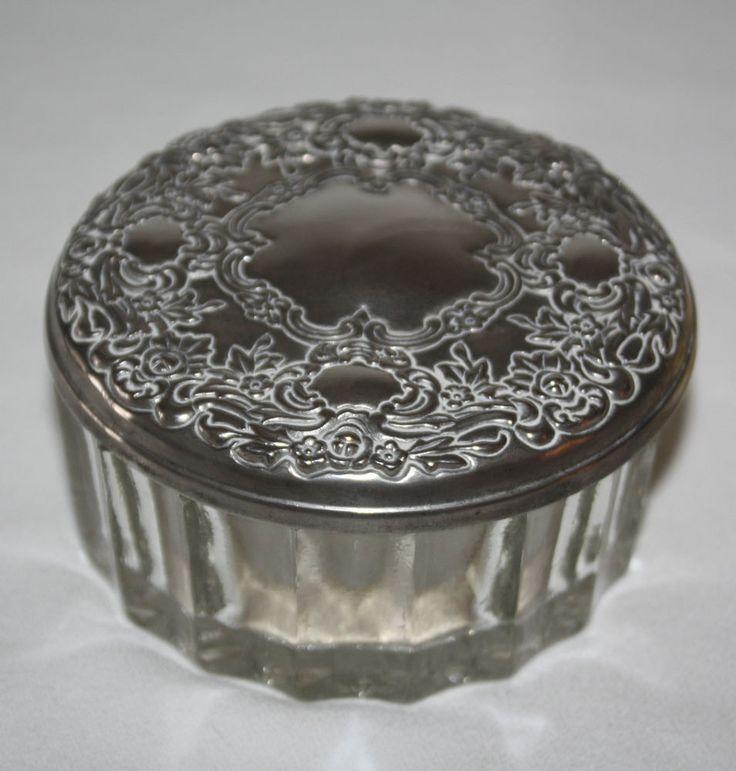 Silver Round Floral Mirror Ring Ebay