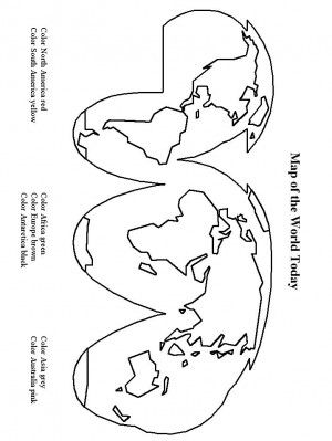 cristofor columb coloring page 6 world mapscoloring bookgeographymiddle - Map Coloring Book