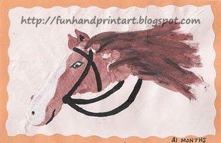 Footprint Horse Craft