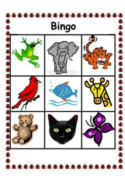 Help your students learn their color words with a fun bingo game. There are 3 variations plus suggestions for using sign language in the game too! (There are also different game boards so the pictures are not all in the same place). Print off as many as you need for your class and laminate them.
