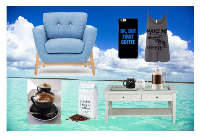 """Wake Up Ocean"" by tanyaprinsloo09 on Polyvore featuring interior, interiors, interior design, home, home decor, interior decorating, Southern Enterprises and Bodum"