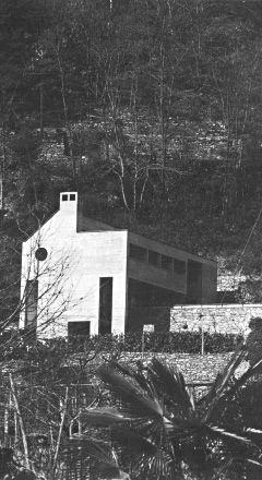 Casa Cavalli (Luigi Snozzi; 1978; Verscio)