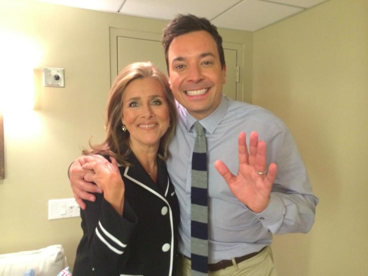 I feel like I've moved into the coolest neighborhood because it's yours! @jimmyfallon @FallonTonight  ~Meredith Vieira