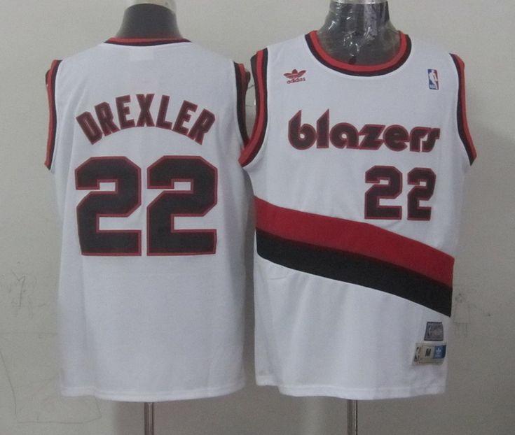 NBA Jerseys Portland Trail Blazers #22 derxler white Jerseys