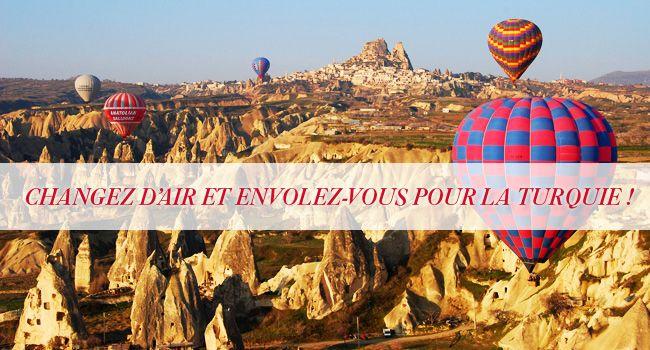 Jouez et tentez de gagner 1 circuit touristique en Turquie ! » Marie France