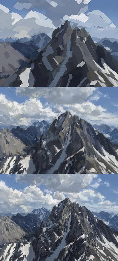 In 3 Schritten zum perfekten Berg