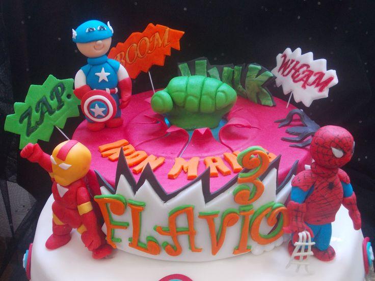Cake Super Eroi