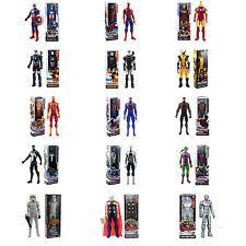 "12"" 30CM The Marvel Avengers Figure Spider-man Thor Captain Iron Man Kids Toys"