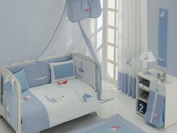 Blue Marine Bedding set