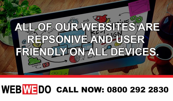 Have you just started a new business? why not contact WebWeDo today and we can create you a fresh website to go with your business. All our websites are completely modern and work on every platform.