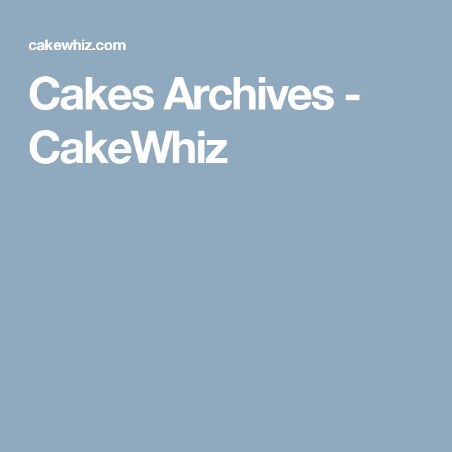 Cakes Archives - CakeWhiz