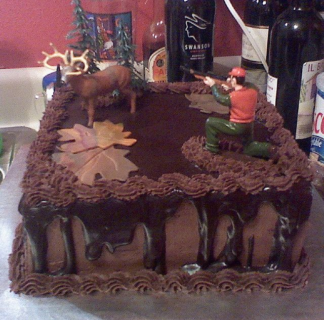 Hunting Grooms cake by carmelacrabtree, via Flickr