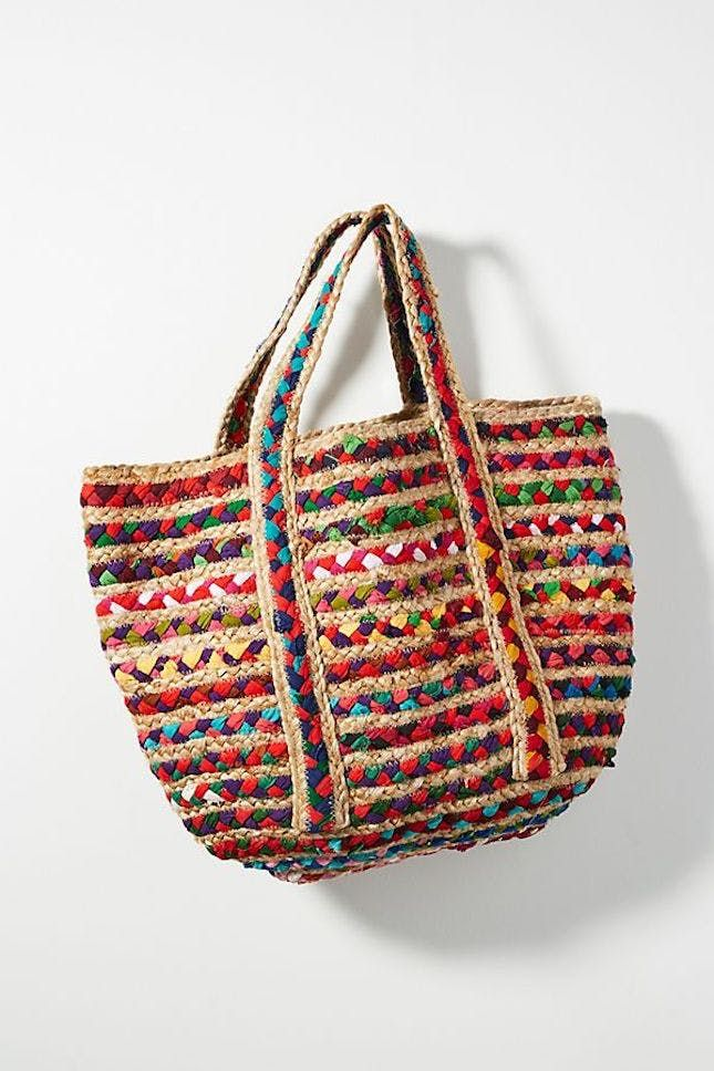 11 Pool And Beach Bags For Summer Weekends Woven Tote Bag Bags Unique Tote Bag