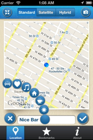 Loc.Book By Cubinea - Category: Navigation - Mobile UX / UI Design