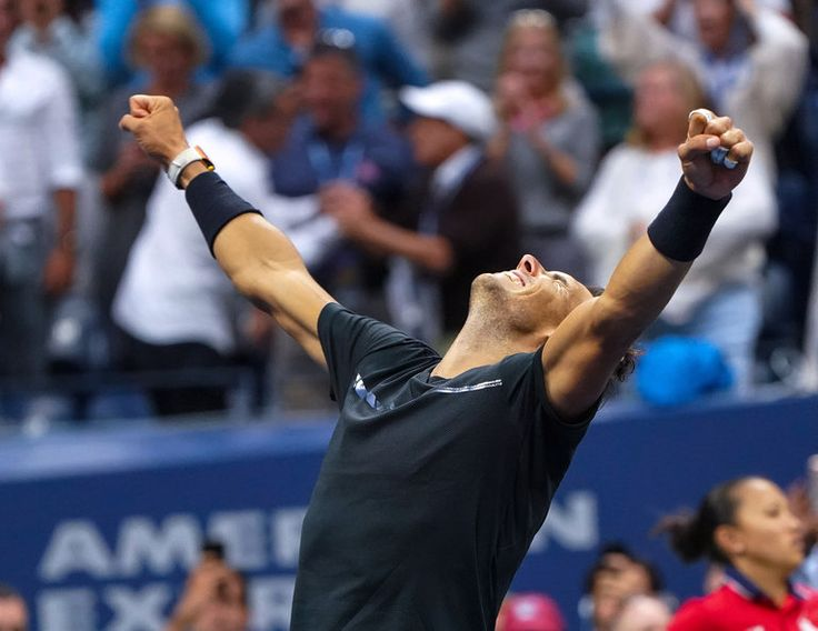 Rafael Nadal Wins the U.S. Open for His 16th Grand Slam Title ... Nadal, back at No. 1 at age 31, underscored his resurgence by defeating Kevin Anderson of South Africa, 6-3, 6-3, 6-4, in the United States Open singles final on Sunday. 9/10/17