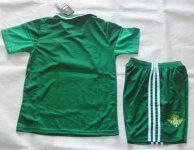 Real Betis 2015-16 Season Kids Away Soccer Kit(Shorts+Shirt) [C496]