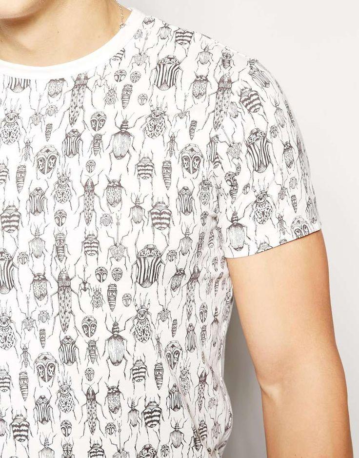 Imagen 3 de Camiseta con estampado de escarabajos de Ben Sherman