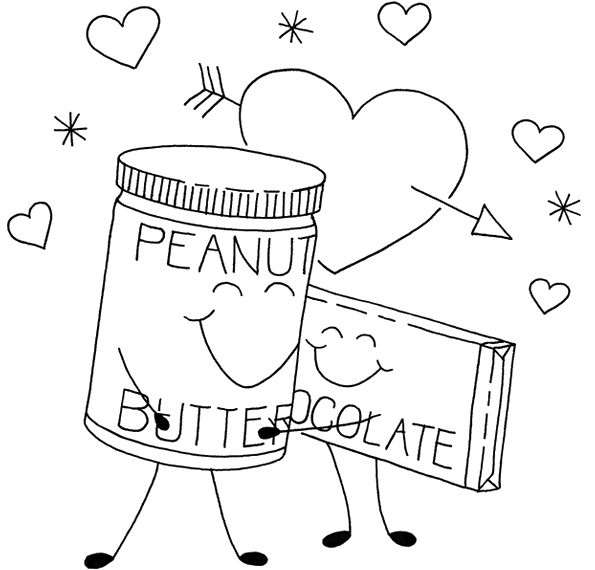 butter free coloring pages - photo#35