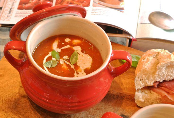 Tomato soup recipe Mary Berry