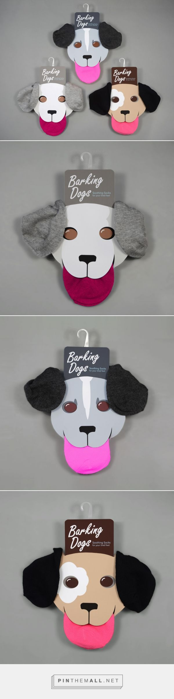 Barking Dogs Soothing Socks - Packaging of the World - Creative Package Design Gallery - http://www.packagingoftheworld.com/2016/08/barking-dogs-soothing-socks.html