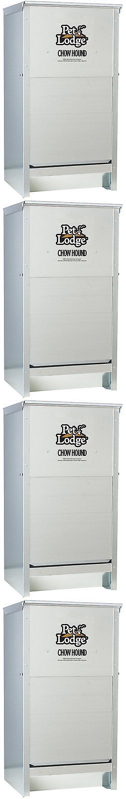Dishes Feeders and Fountains 177789: Outdoor Automatic Dog Feeder Large Pet Gravity Fed Food Dispenser Holds 50 Lbs! -> BUY IT NOW ONLY: $96.99 on eBay!