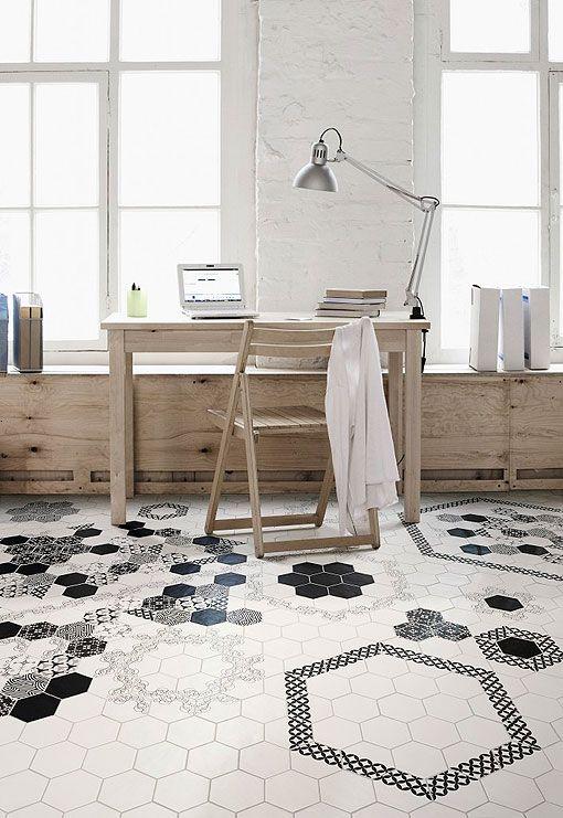 Las 25 mejores ideas sobre baldosas hexagonales en - Pavimentos ceramicos interiores ...