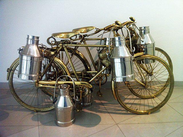 Ausstellung im MMK 1 in Frankfurt Subodh Gupta