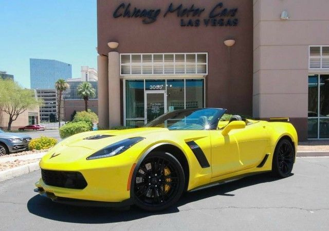 Cool Awesome 2016 Chevrolet Corvette Z06 Convertible 2-Door 2016 CORVETTE Z06 3LZ CONVERTIBLE  RACING YELLOW 4K MILES $102K+ MSRP 2018 Check more at https://24auto.ga/2017/awesome-2016-chevrolet-corvette-z06-convertible-2-door-2016-corvette-z06-3lz-convertible-racing-yellow-4k-miles-102k-msrp-2018/