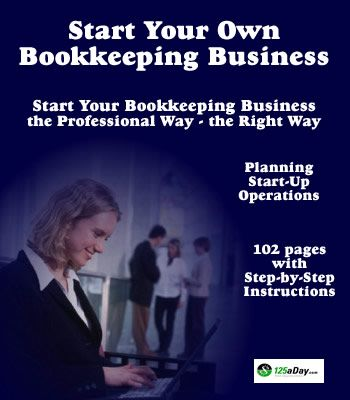 how to run your own bookkeeping business