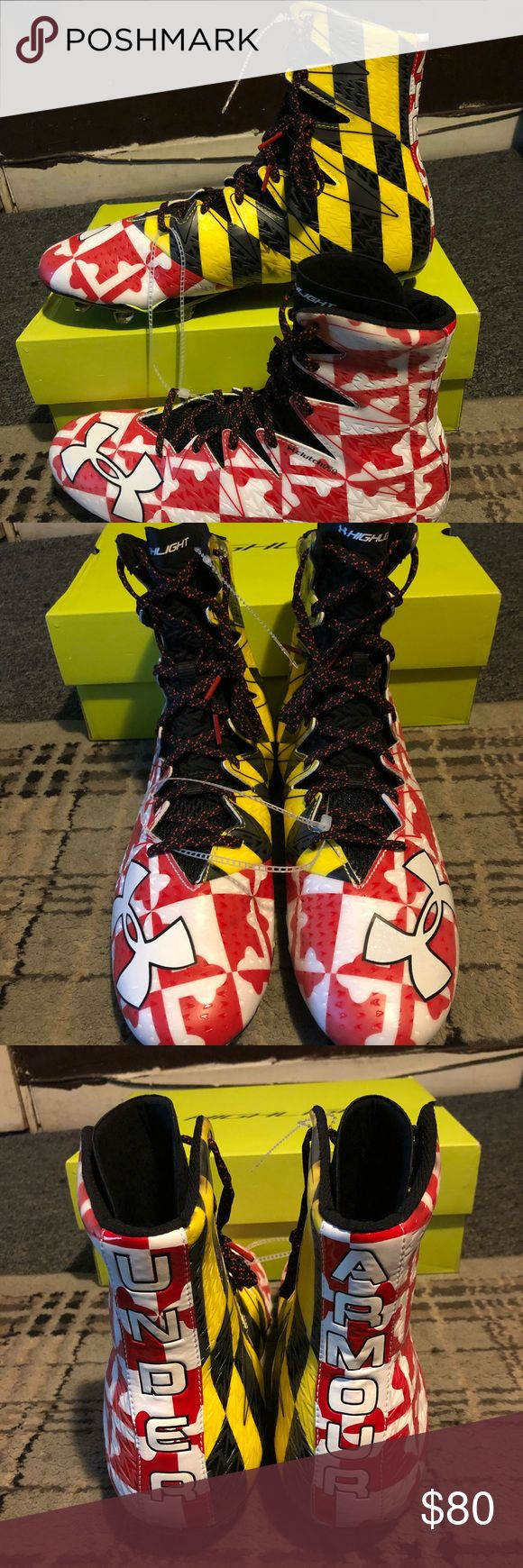 Kids Cleats ! Under Amour l! Brand New and Never Worn ! Under Armour Shoes Sneakers