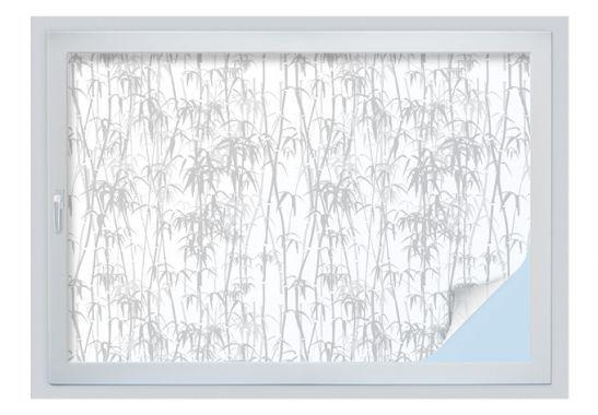 Pellicole privacy finestre - Pellicola adesiva per vetri - bambù verde-beige
