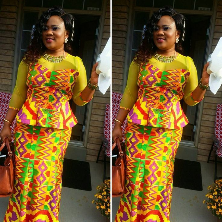 The 25 Best Kente Dress Ideas On Pinterest Ankara African Dress And Ankara Styles