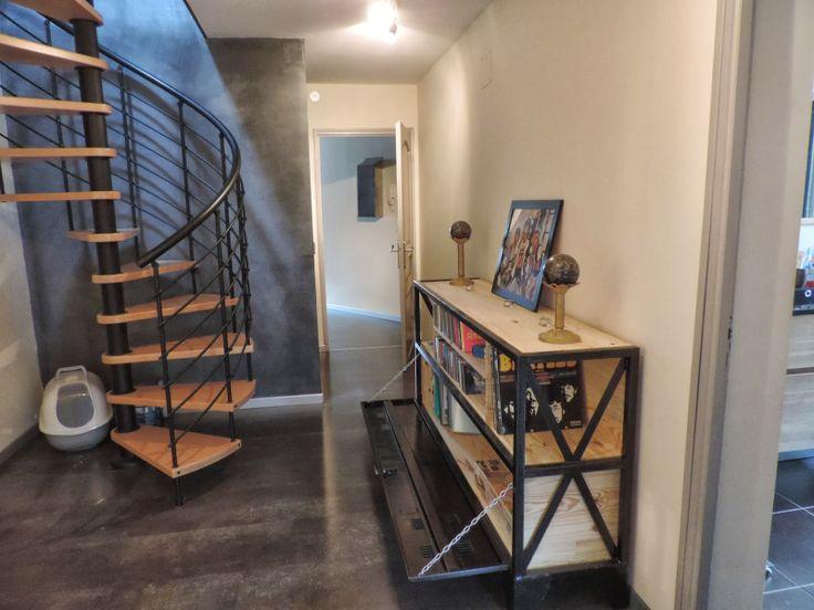 mon mobilier industriel mon mobilier vintage restaurer r nover d tourner meuble tv. Black Bedroom Furniture Sets. Home Design Ideas
