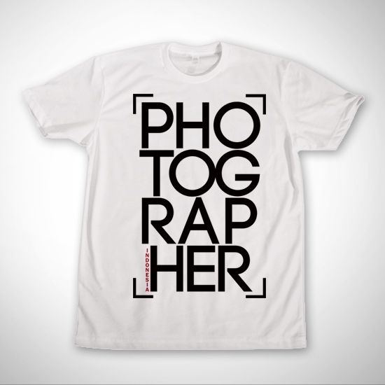 Photographer Indonesia dari tees.co.id oleh F - Clothing