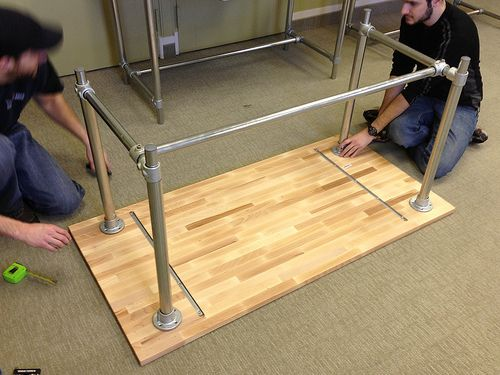 316 best images about pipe desks on pinterest desk plans for Plumbing pipe desk plans