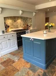 Shiftkey Blue Kitchen Island Farrow And Ball