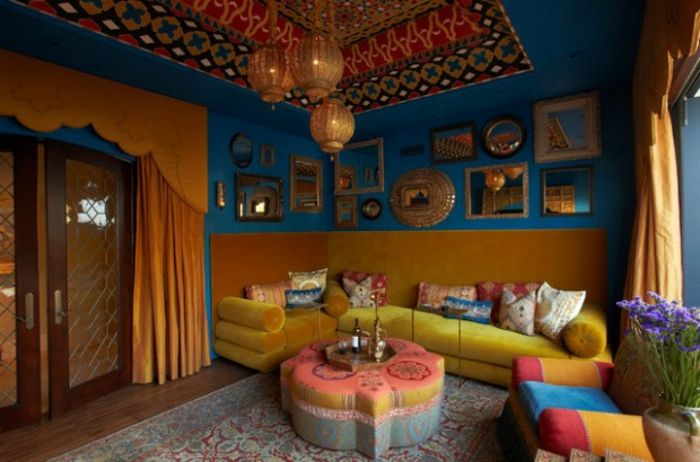 17 best images about salons marocains on pinterest pool houses diy daybed and interieur for Les canapes marocains