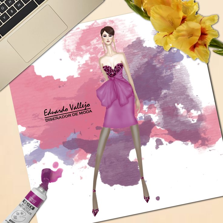 Design by eduardo Vallejo, bodacious one of the pantone colors for 2018