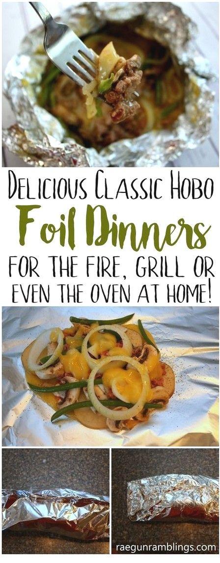 Hobo Classic Foil Dinner | Pack Foil Recipes   – Recipes