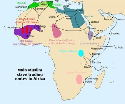 Trans Saharan Trade Route   of trade in the region arab trans saharan slave trade