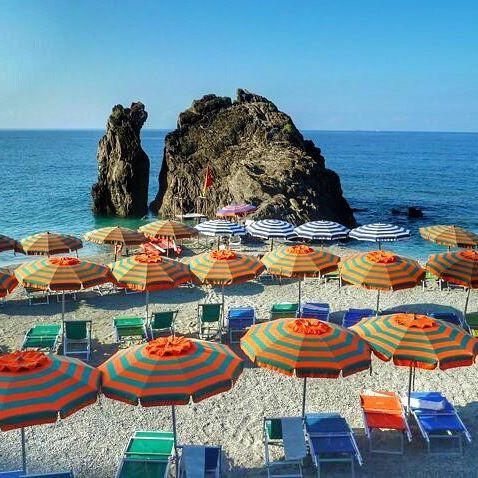 : Monterosso al Mare ➡️ The best location in the Cinque Terre to kick back and enjoy the ☀️ in the sky and the sand under your feet ⛱  www.thegirlswhowander.com  #thegirlswhowander #MonterossoalMare #Italy #ItalianRiviera #topitalyphoto #hike #sun #sand #beach #beauty #travel #instatravel #photography #photooftheday #picoftheday #linkinbio #GirlsBornToTravel #girlaroundworld #sheisnotlost #wearetravelgirls
