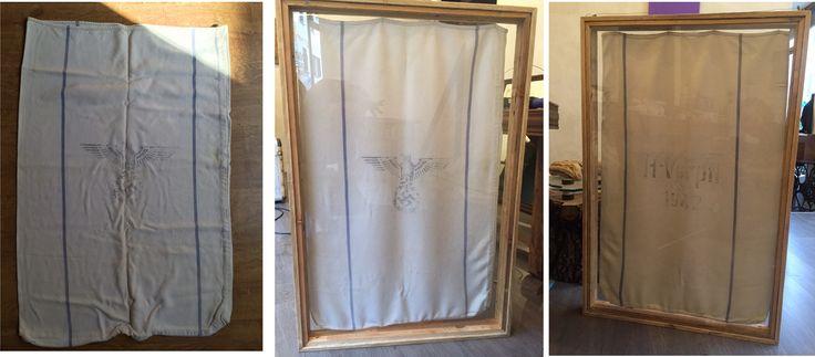 """SSmailbag"" frame from pallet"