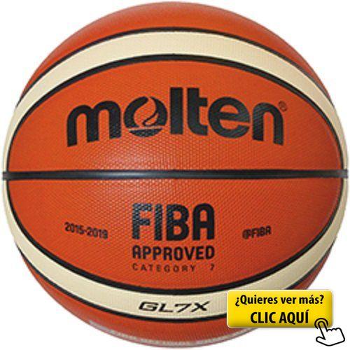 Molten - Pelota para entrenamiento de baloncesto, Color Naranja/Crema, Talla BGR5 (5) #balon #basket