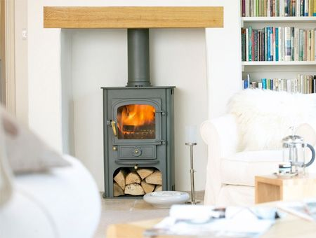 Clearview Solution 400 multi fuel / wood burning stove